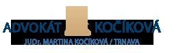 www.advokatkocikovatrnava.sk Logo